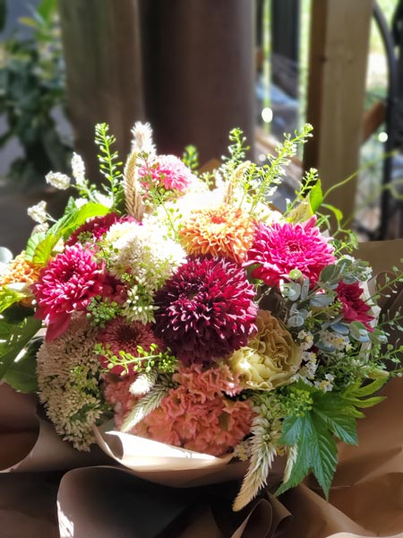 Standing bouquet
